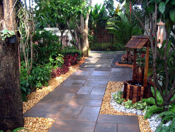 garden design with home garden landscaping ideas with backyard patios ideas from gharcom