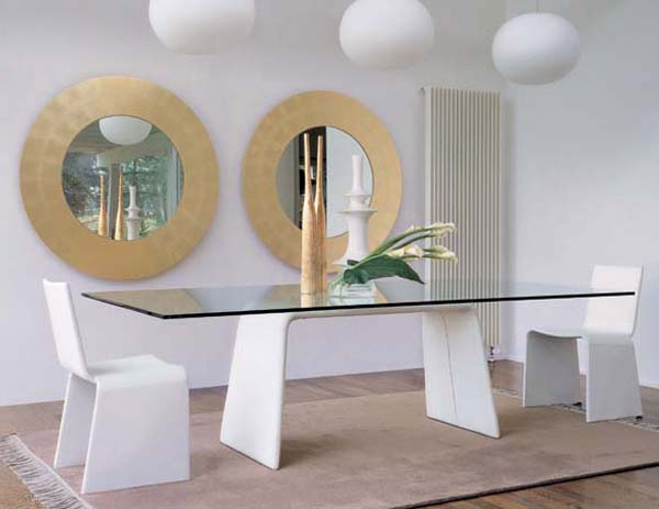 Modern dining table design ideas for Modern day decor