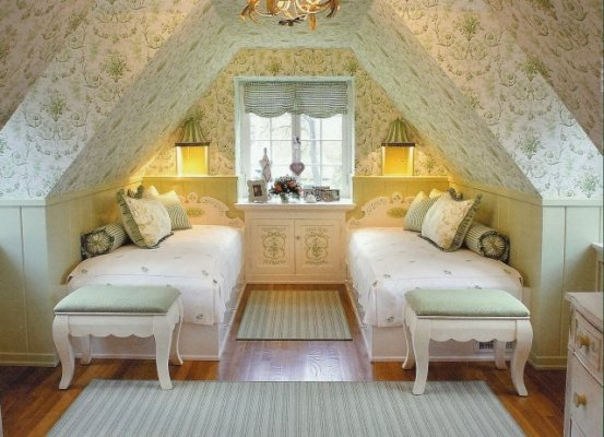 Attic bedroom design ideas for Attic room