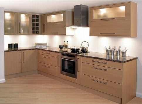 shape up your kitchen according to your space given area and requirement its better to give a proper and appealing shape to your kitchen - Kitchen Wardrobe Designs