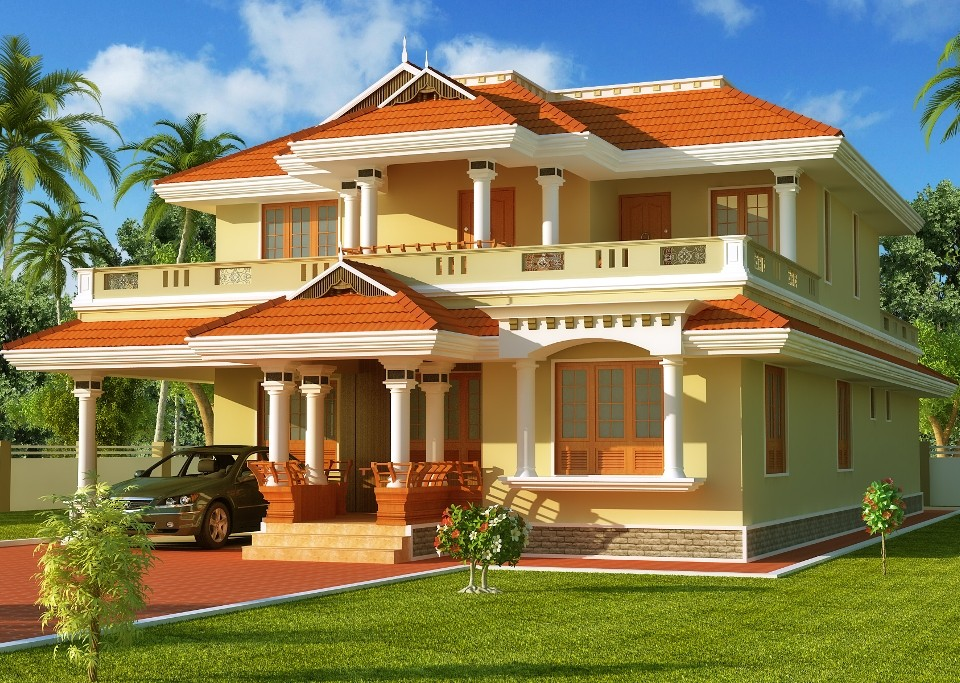 Simple Exterior House Designs In Kerala elevation archives - home design, decorating , remodeling ideas