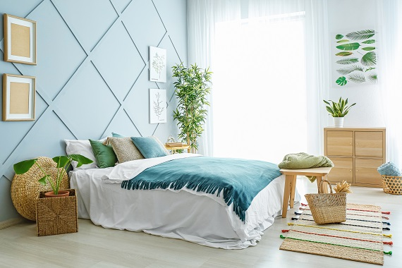 How To Turn Your Bedroom Into An Oasis
