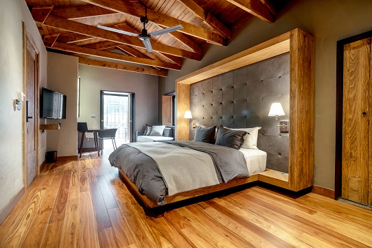 Bedroom In Modern luxury house