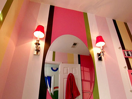Amazing-Chic-And-Inspirational-Colorful-Bathroom-Ideas-In-Pink-Color-and-Ornament-Design-