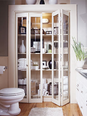 Elegant Bathroom Shelf Design Ideas