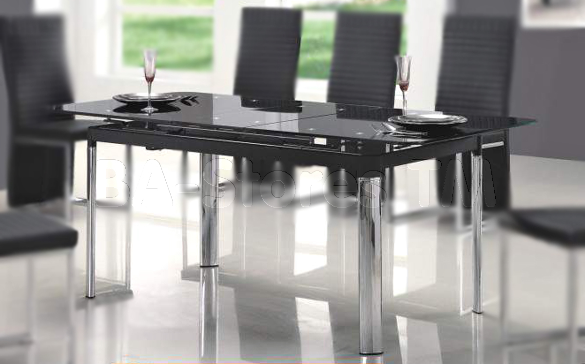 Glass furniture table designs for Dining table design