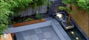 Contemporary-couryard-water-feature-bamboo-grass1
