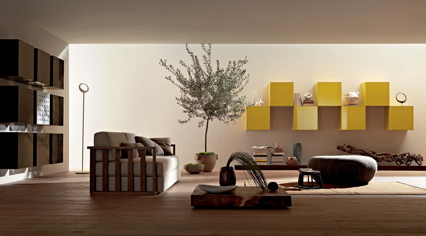 Modular furniture for home for Contemporary furnishings