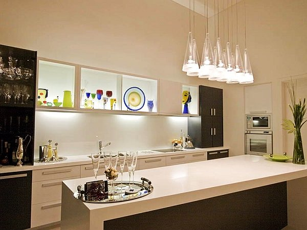 Beautiful kitchen lighting for modern home for Kitchen lighting design