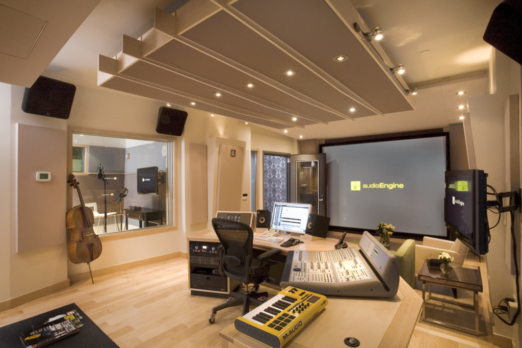Music room design studio for Creative room decor