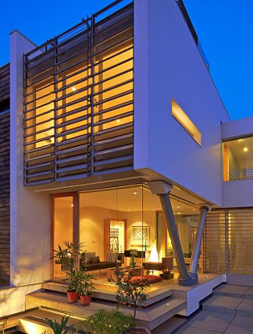 Dada partners architects india house design for Indian house design architect