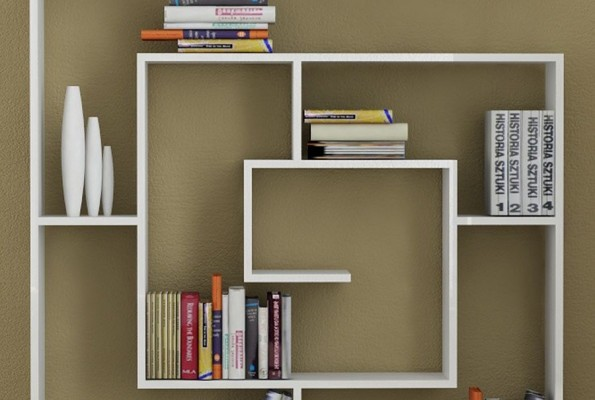 welland floating wood wall shelf - Decorative Wall Shelves