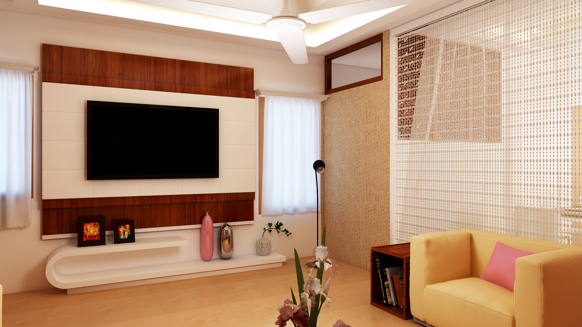 Ghar360 portfolio 4bhk villa design by top interior for Drawing room design