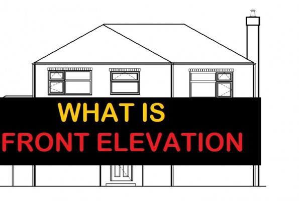 What is Front Elevation