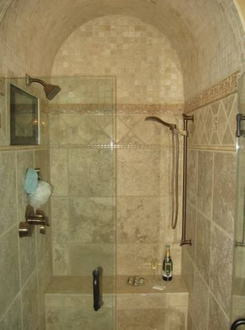 Functional Bathroom Accessories With Traditional Bathroom Shower Designs