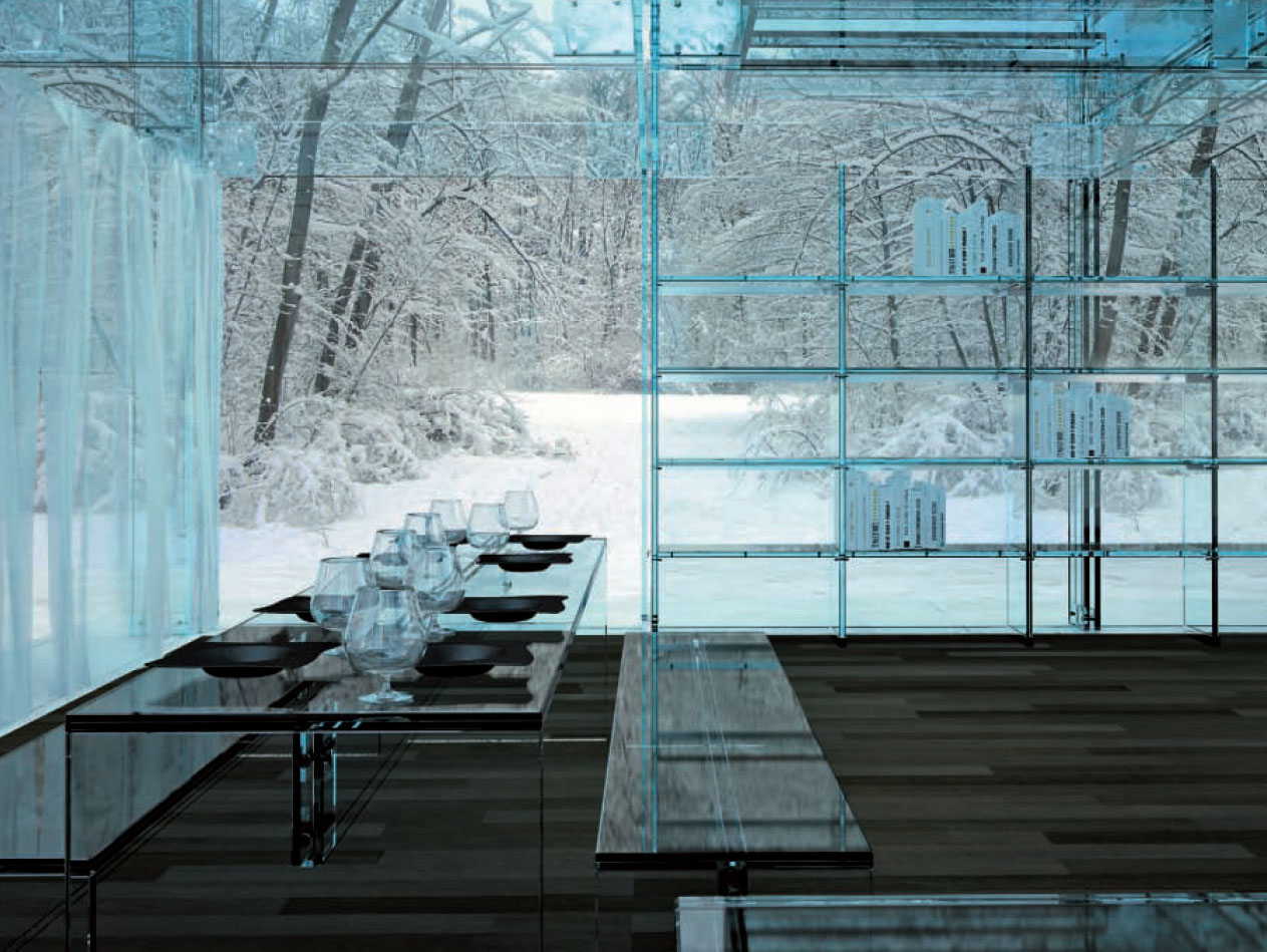 Glass interiors architectural beauty for Architecture interior design