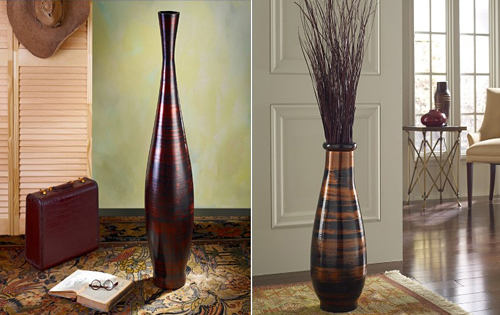 Elements Of Interior Design And Decoration floor vases - an essential elements of interior design