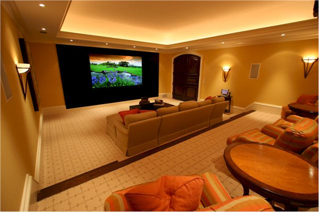 Home cinema designs and ideas Home theatre room design ideas in india