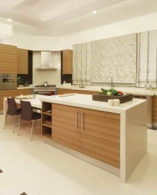 Kitchen counter top design and materials