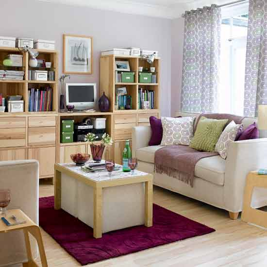 Small living rooms make them large - How to decorate a small living room space ...