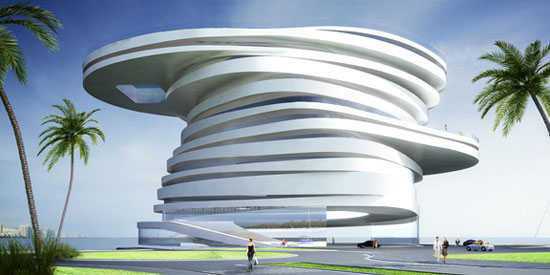 Beautiful hotel architecture designs for Architectural design