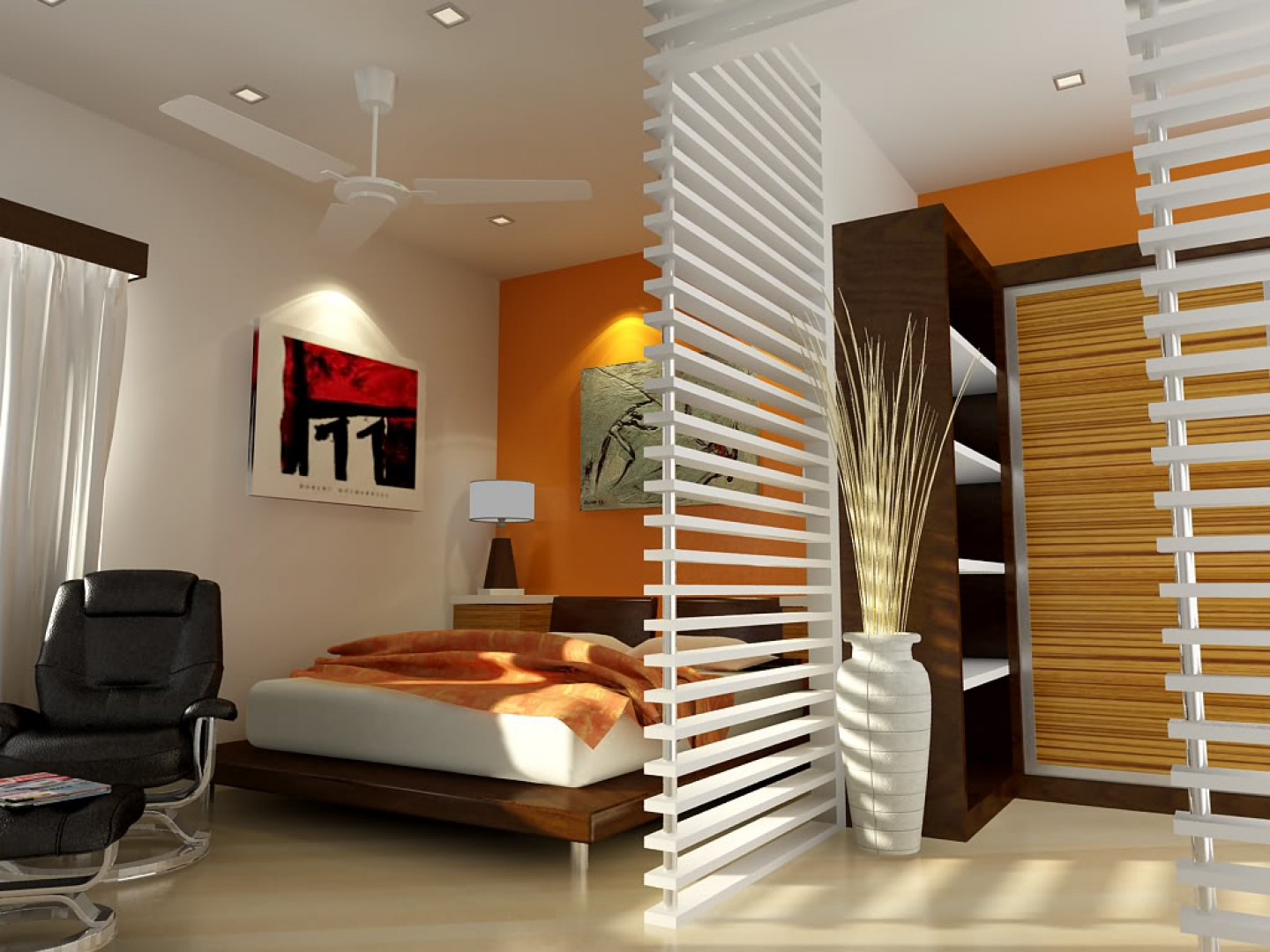 Luxurious home interiors for Interior designs of bedrooms pictures