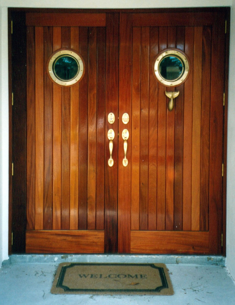 Mahogany Wooden Doors Design