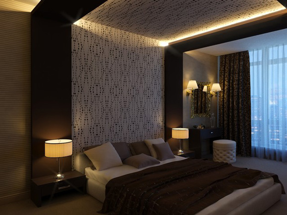 False ceiling designs for Bedroom designs light