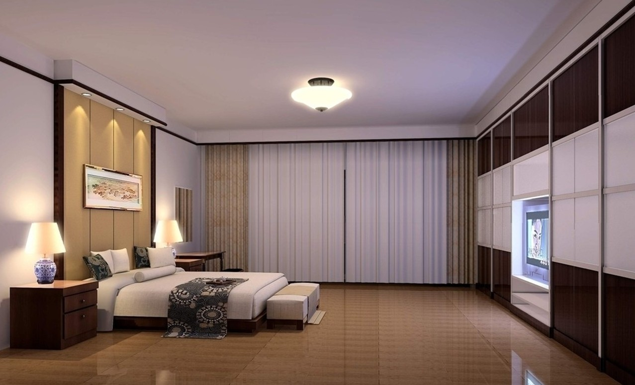 Ultra modern bedroom interiors - Minimalist Lighting Design For Bedroom
