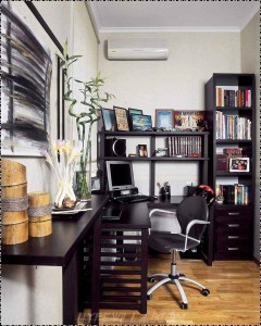 Modern-Study-Room-Interior-Design-with-black-furniture