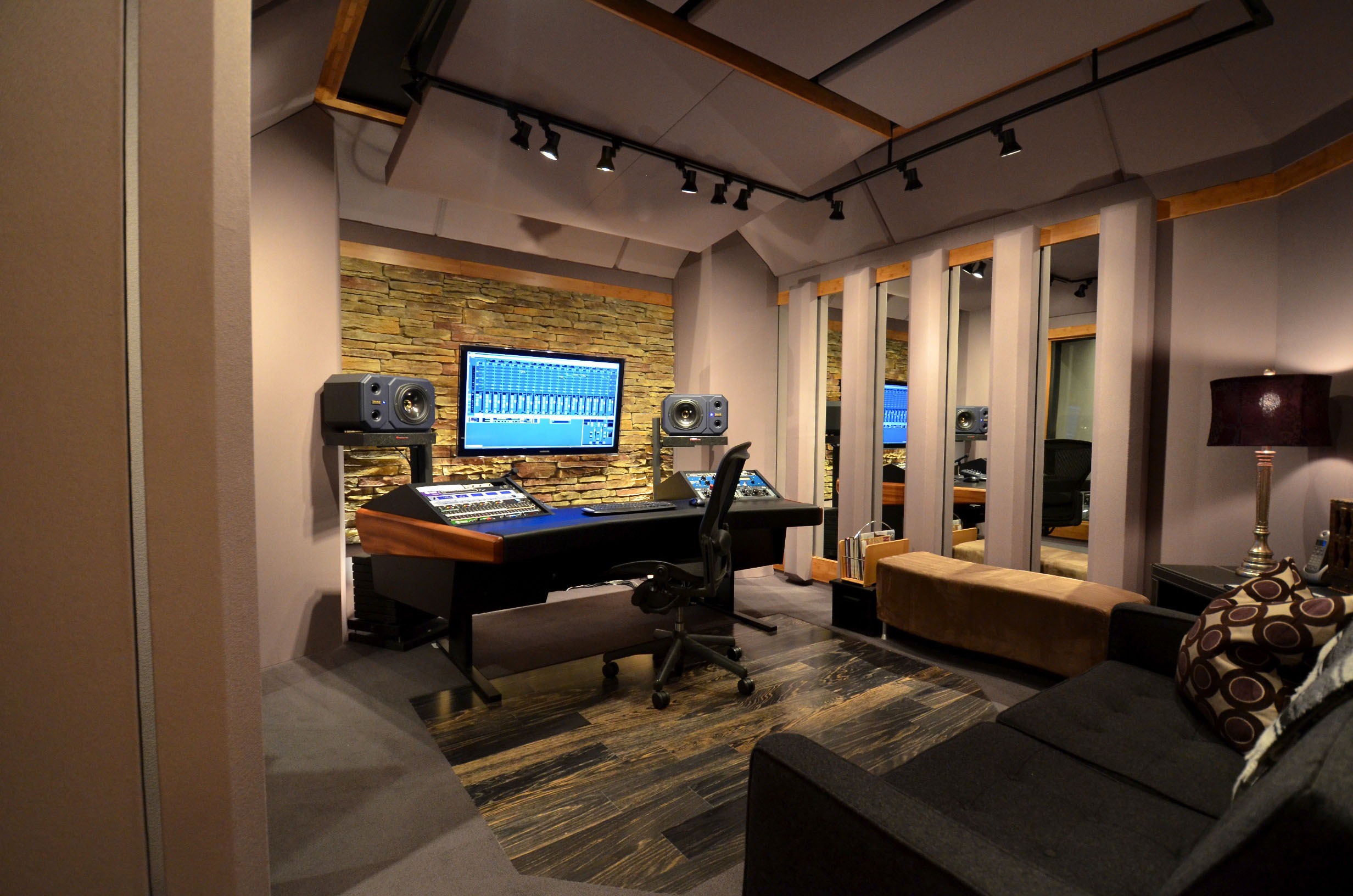 montanna recording studio decoration ideas design interior with best