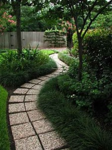 Delightful Garden Design With Beautiful Garden Pathway With Landscape For Small Yards  From Ghar.com