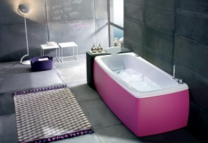 Pink-Bathtub-with-Headrest-Inspirational-Bathtub-Designs-by-BlueBlue