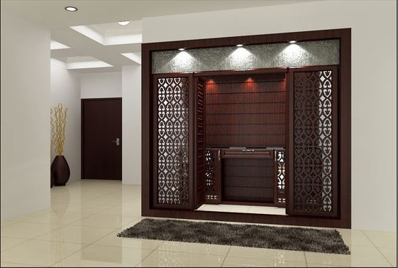Designing the Divine Space Prayer Pooja Room