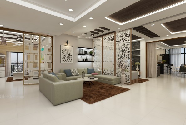 luxury interior design by ghar360 best interior design firm in