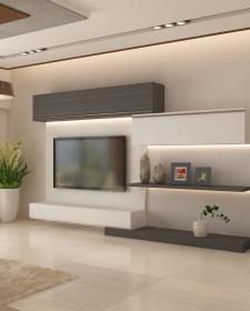 Ghar360 Portfolio 2 BHK Apartment Interior Design In Jp Nagar Bangalore