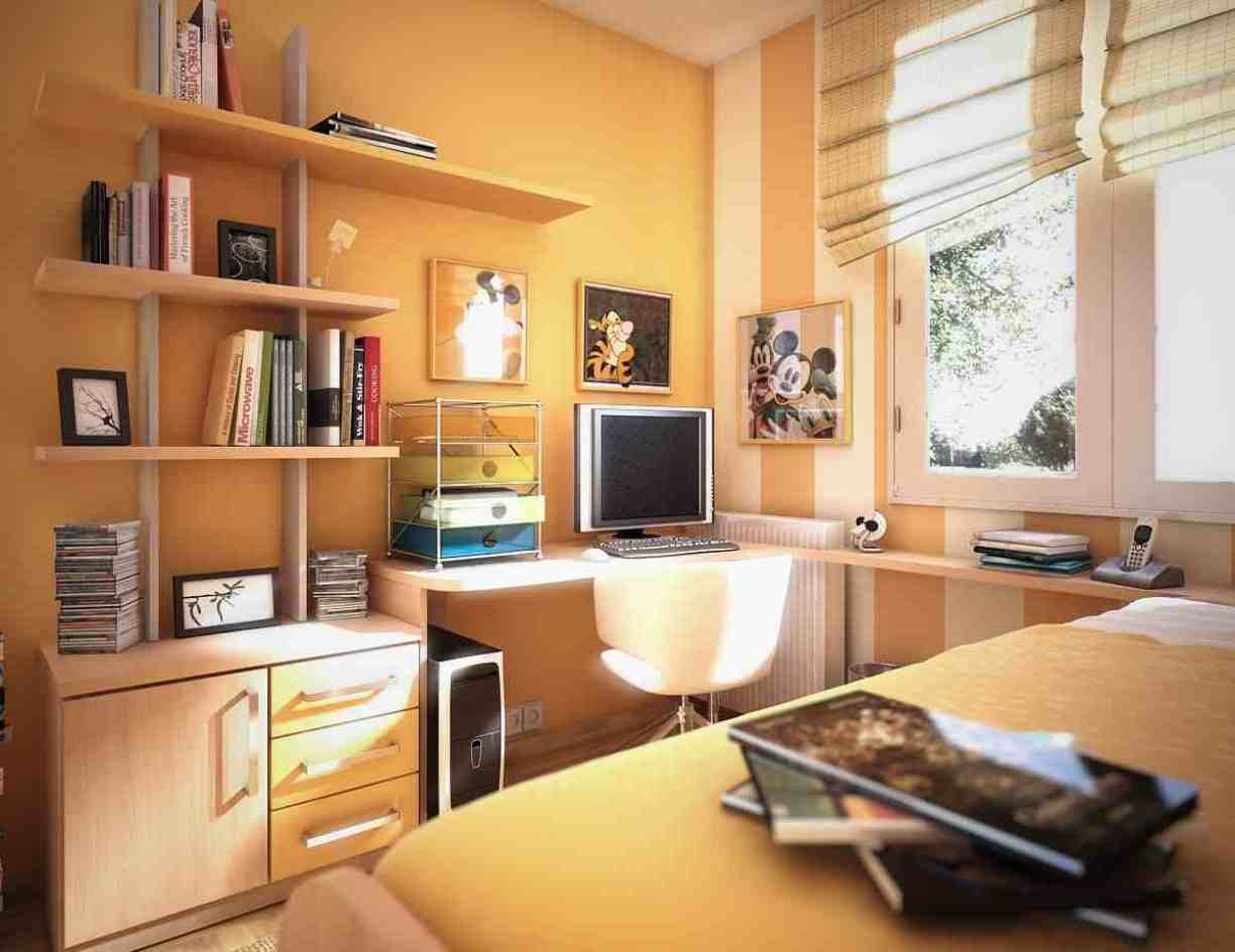 Beautiful study room design ideas for Beautiful bedroom ideas for small rooms