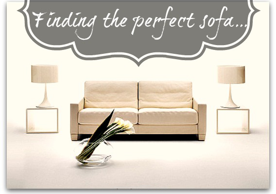 How to find the perfect sofa for your home