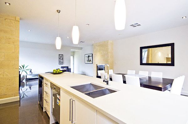... -White-Kitchen-with-Modern-and-Effective-Kitchen-Lighting-Ideas