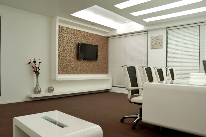 Aastha designers corporate office interiors international for Office room interior design photos