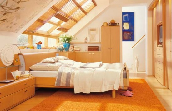 amusing warm attic bedroom design - Ideas For Attic Bedrooms