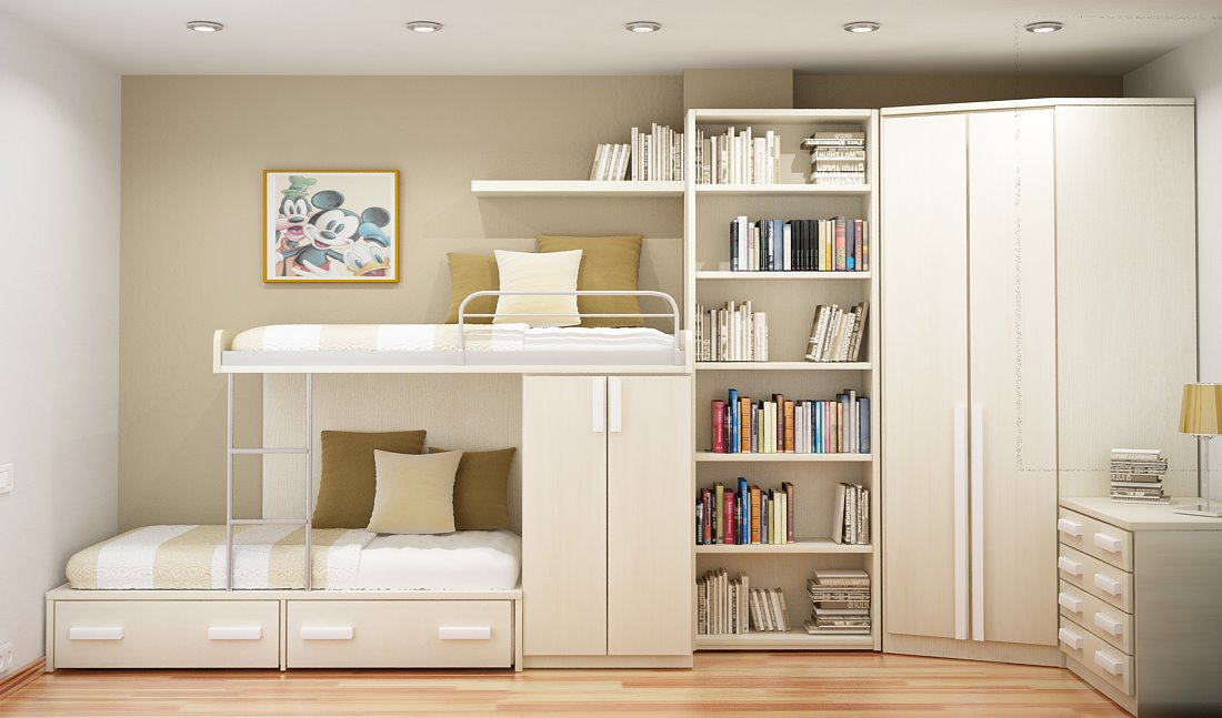 Beautiful study room design Ideas : and innovative small study room designs for two from ghar360.com size 1100 x 647 jpeg 90kB