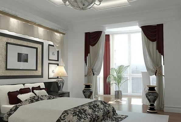 Curtains Ideas bedroom drapes and curtains : Stylish curtain treatments for bedrooms