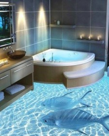 3d flooring archives home design decorating for Awesome bathroom 3d floor designs