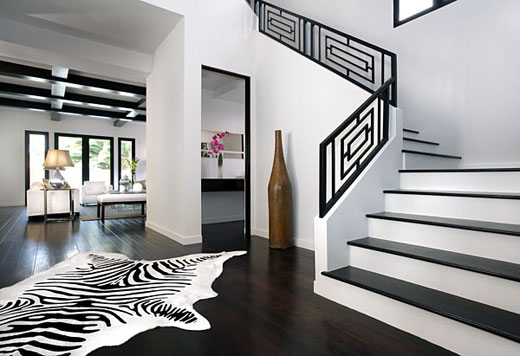 Black U0026 White Combo Interior Design Ideas