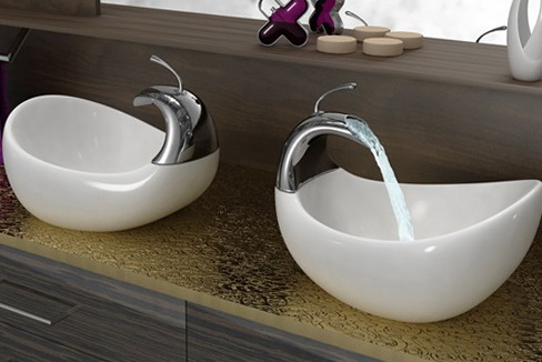 Exceptionnel Just Imagine Your Bathroom Counter Top Being Accommodated With A Classy,  Elegant And Designer Wash