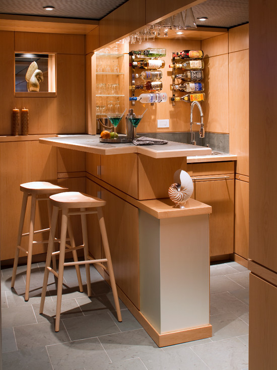 Home bar designing - Basement bar layout ideas ...