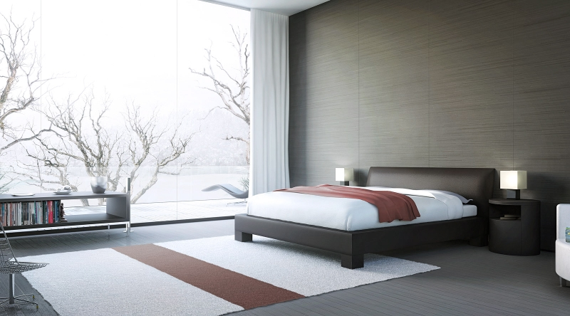 Stylish Bedrooms With Large Windows For A Better Living