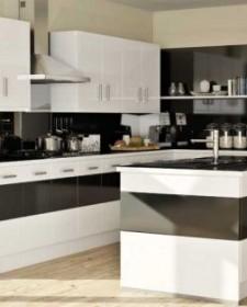 Black & White combo for Interiors