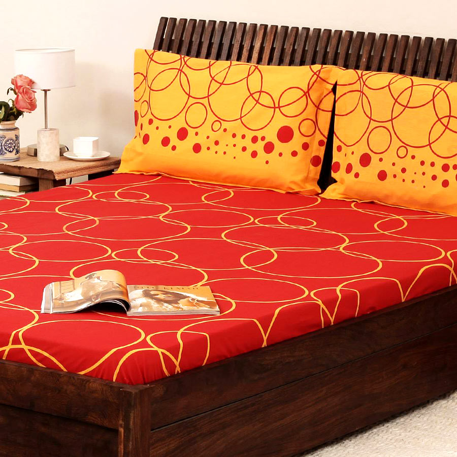 Bed sheet designs for decorative and amazing looks for Bed in bed designs
